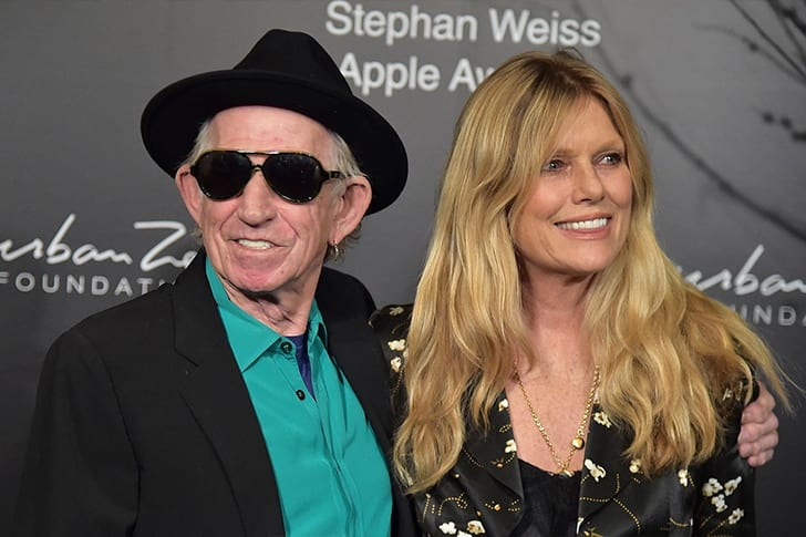 Keith Richards and Patti Hansen True Love Exists In Hollywood And These Celebrity Couples Prove It