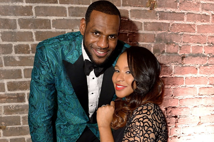 LeBron James and Savannah Brinson min True Love Exists In Hollywood And These Celebrity Couples Prove It