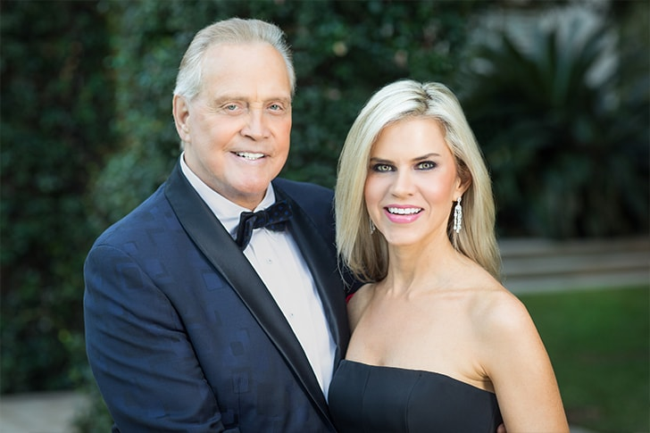 Lee Majors and Faith Majors min True Love Exists In Hollywood And These Celebrity Couples Prove It