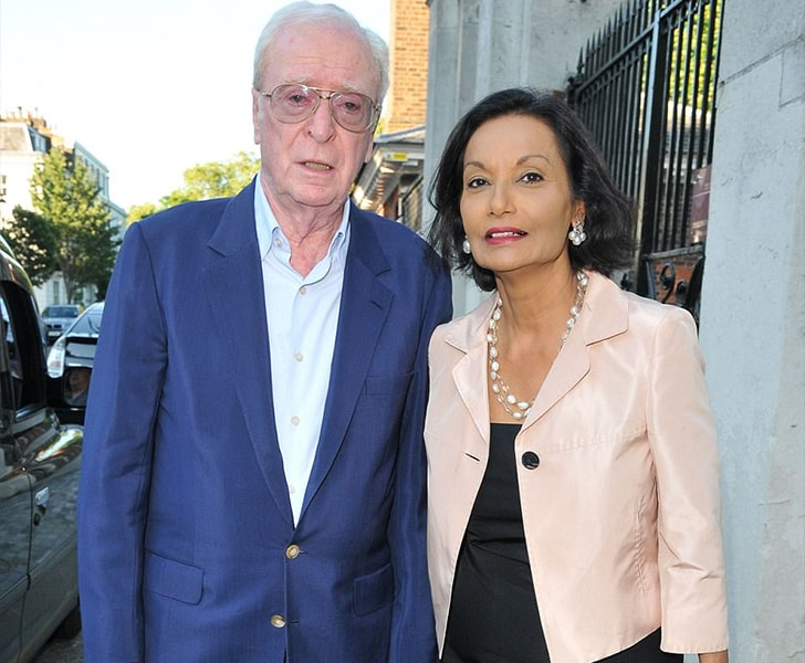 Michael Caine Shakira Caine min True Love Exists In Hollywood And These Celebrity Couples Prove It