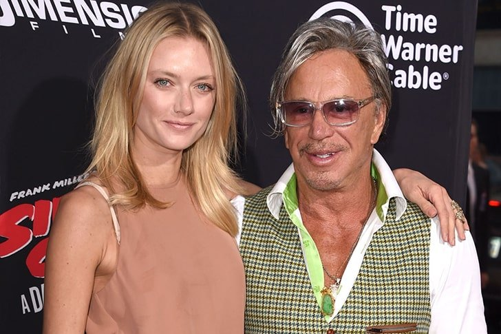 Mickey Rourke Anastassija Makarenko min True Love Exists In Hollywood And These Celebrity Couples Prove It