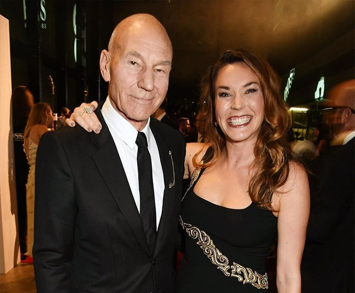 Patrick Stewart Sunny Ozell min True Love Exists In Hollywood And These Celebrity Couples Prove It