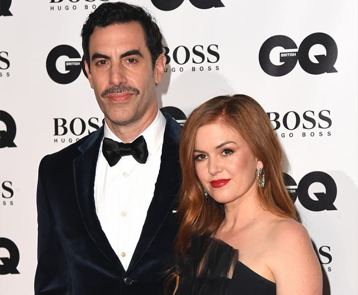 Sacha Baron Cohen and Isla Fisher True Love Exists In Hollywood And These Celebrity Couples Prove It
