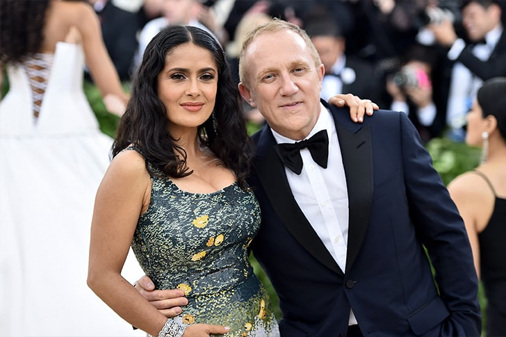 Salma Hayek and Francois Henri Pinault min True Love Exists In Hollywood And These Celebrity Couples Prove It