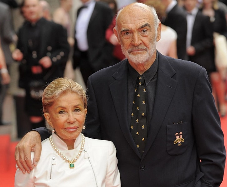 Sean Connery Micheline Roquebrune min True Love Exists In Hollywood And These Celebrity Couples Prove It