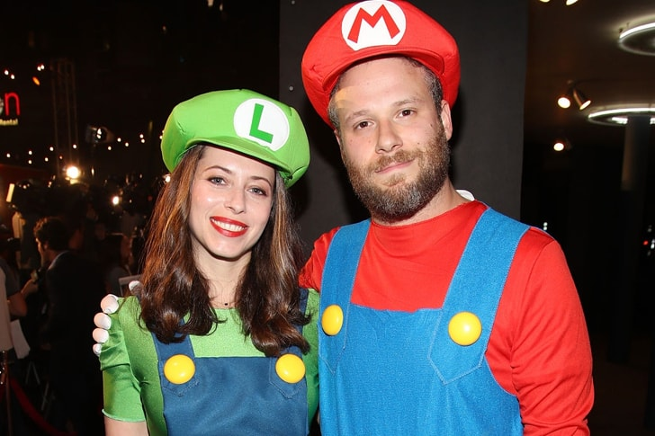 Seth Rogen and Lauren Miller min True Love Exists In Hollywood And These Celebrity Couples Prove It
