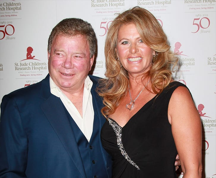 William Shatner and Elizabeth Anderson Martin True Love Exists In Hollywood And These Celebrity Couples Prove It