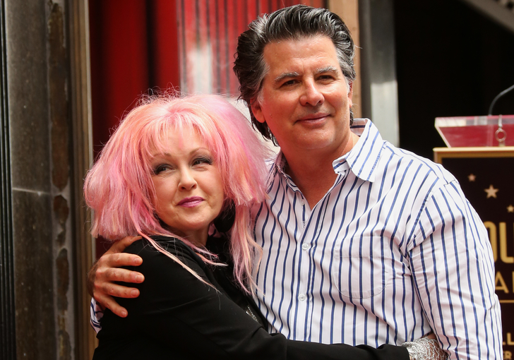 cyndi lauper husband2 True Love Exists In Hollywood And These Celebrity Couples Prove It