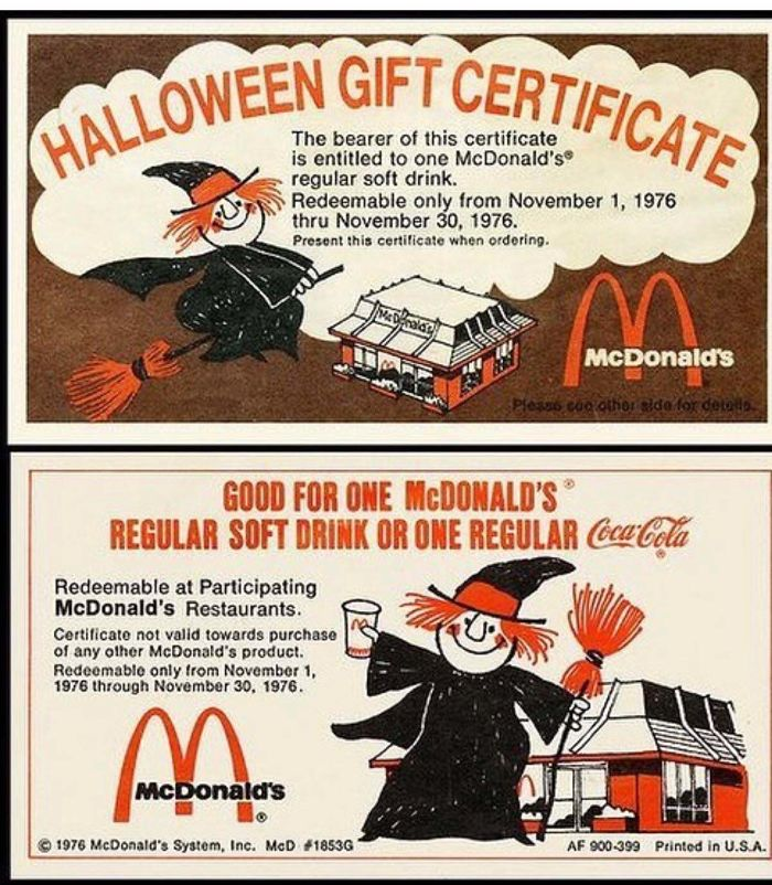 23 64 These Pictures Show How Different McDonald's Was In The 80s & 90s