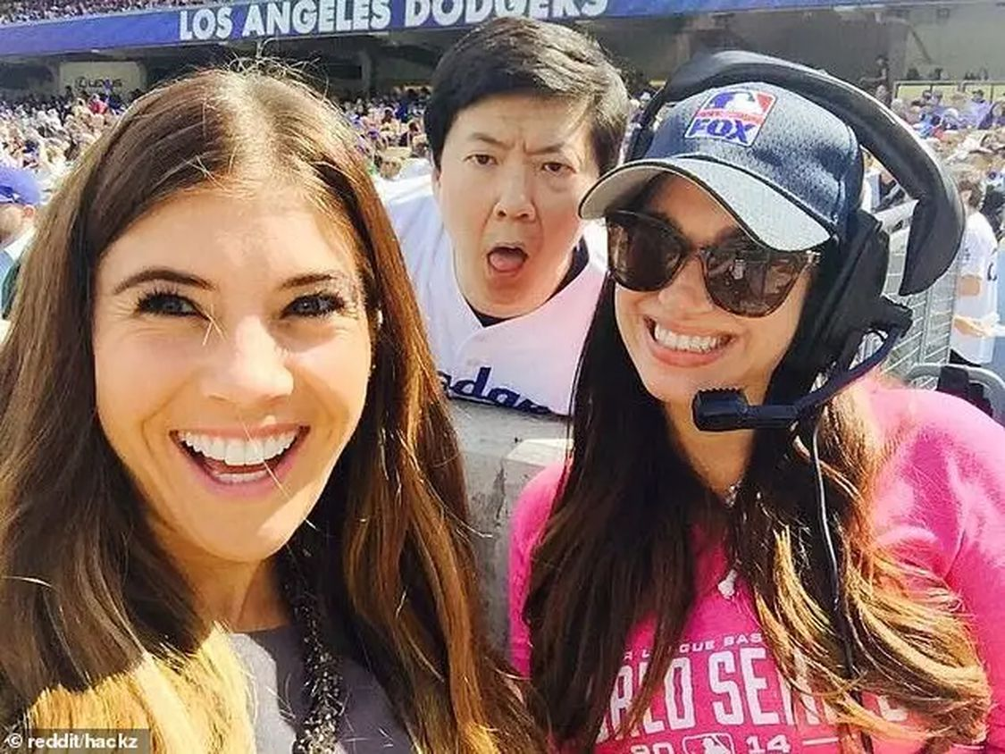 26 17052e2611b994fae251c12d59195f3b These People Were Photobombed By Their Favorite Celebrities Without Realizing It