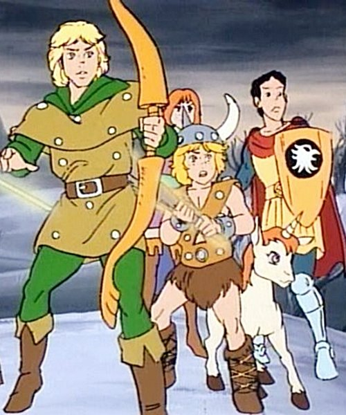 4 1 8 Things Only Adults Notice About The 1980s Dungeons & Dragons Cartoon