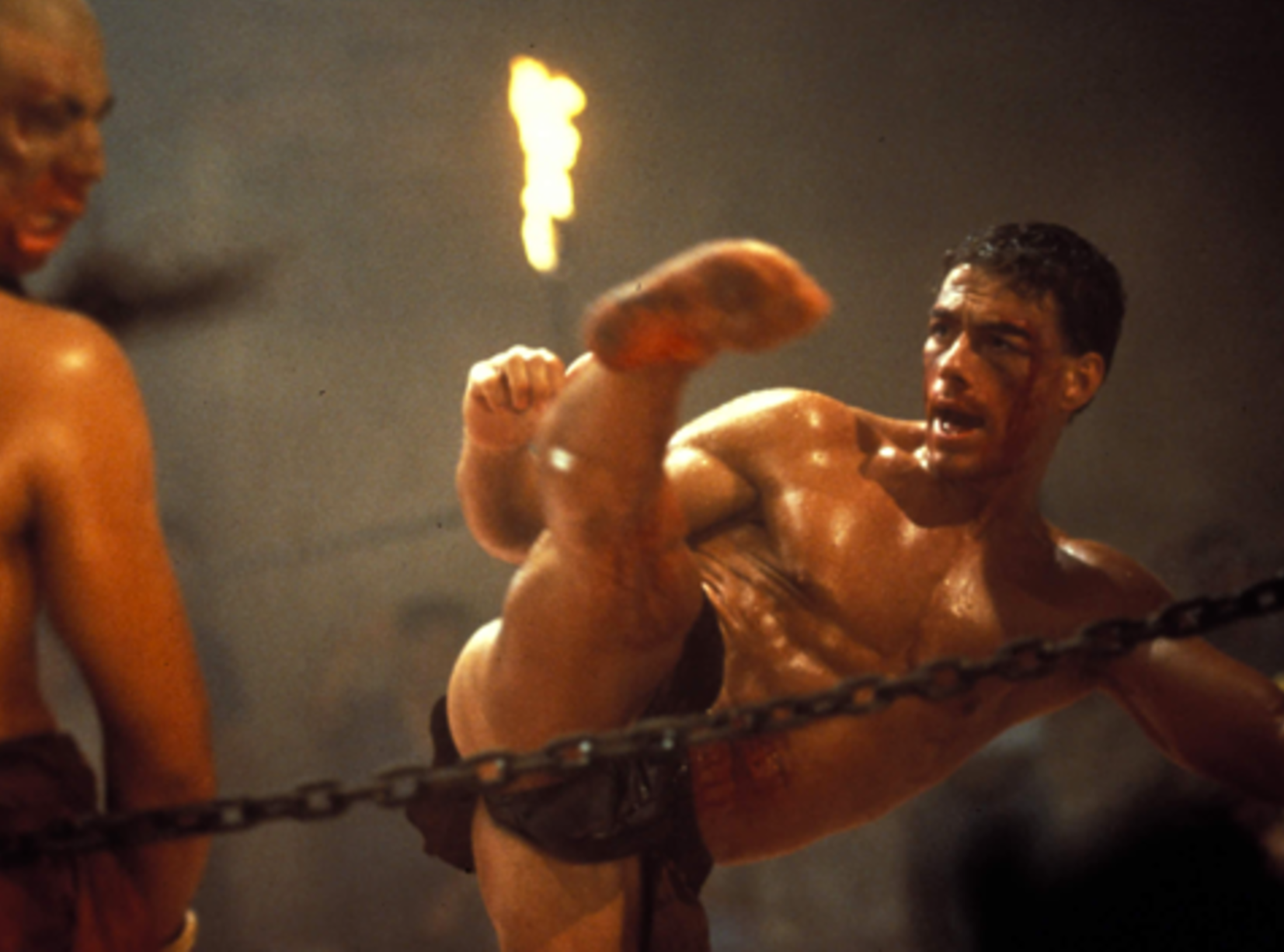 496879837 0 e1619525190978 25 Crotch-Punching Facts About Jean-Claude Van Damme's 1988 Film Bloodsport