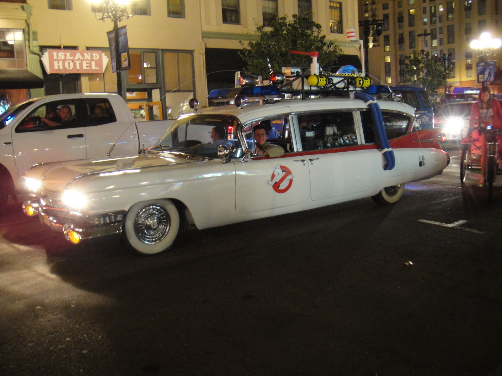 Ecto 1 in San Diego Legendary 1980s TV & Movie Vehicles That Sold For A Fortune At Auction