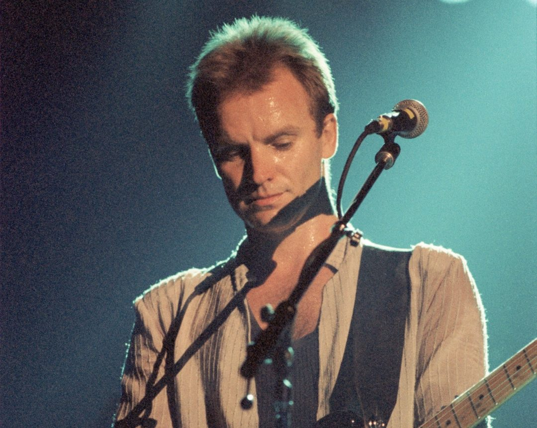 Sting Paris Bercy May 3 1986 a e1617273436358 10 Things You Might Not Have Realised About Rock Legends The Police