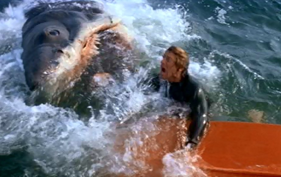 jaws pond attack 27 Things You Didn't Know About Jaws