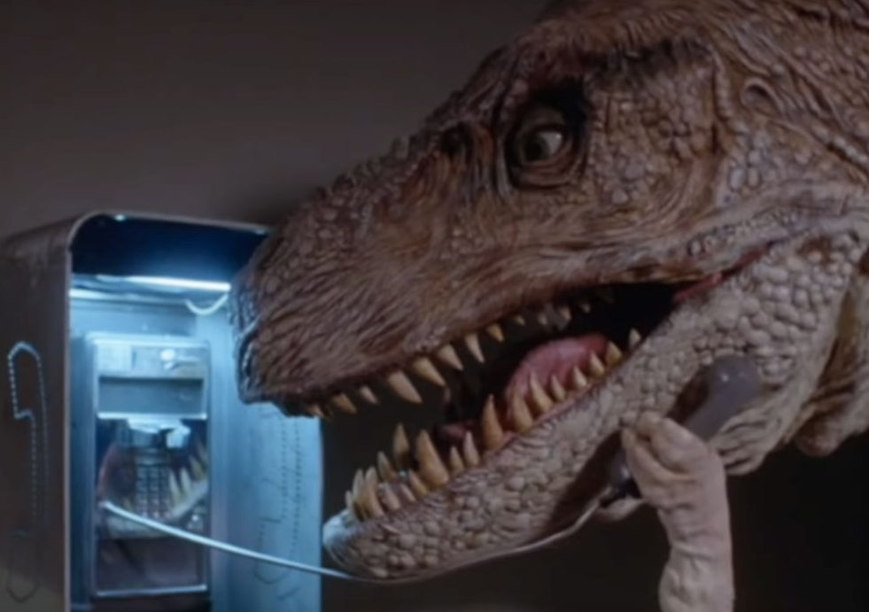 tammyandthetrex dinosaur payphone e1618561683370 30 Films From The 90s That Are So Bad They're Actually Good