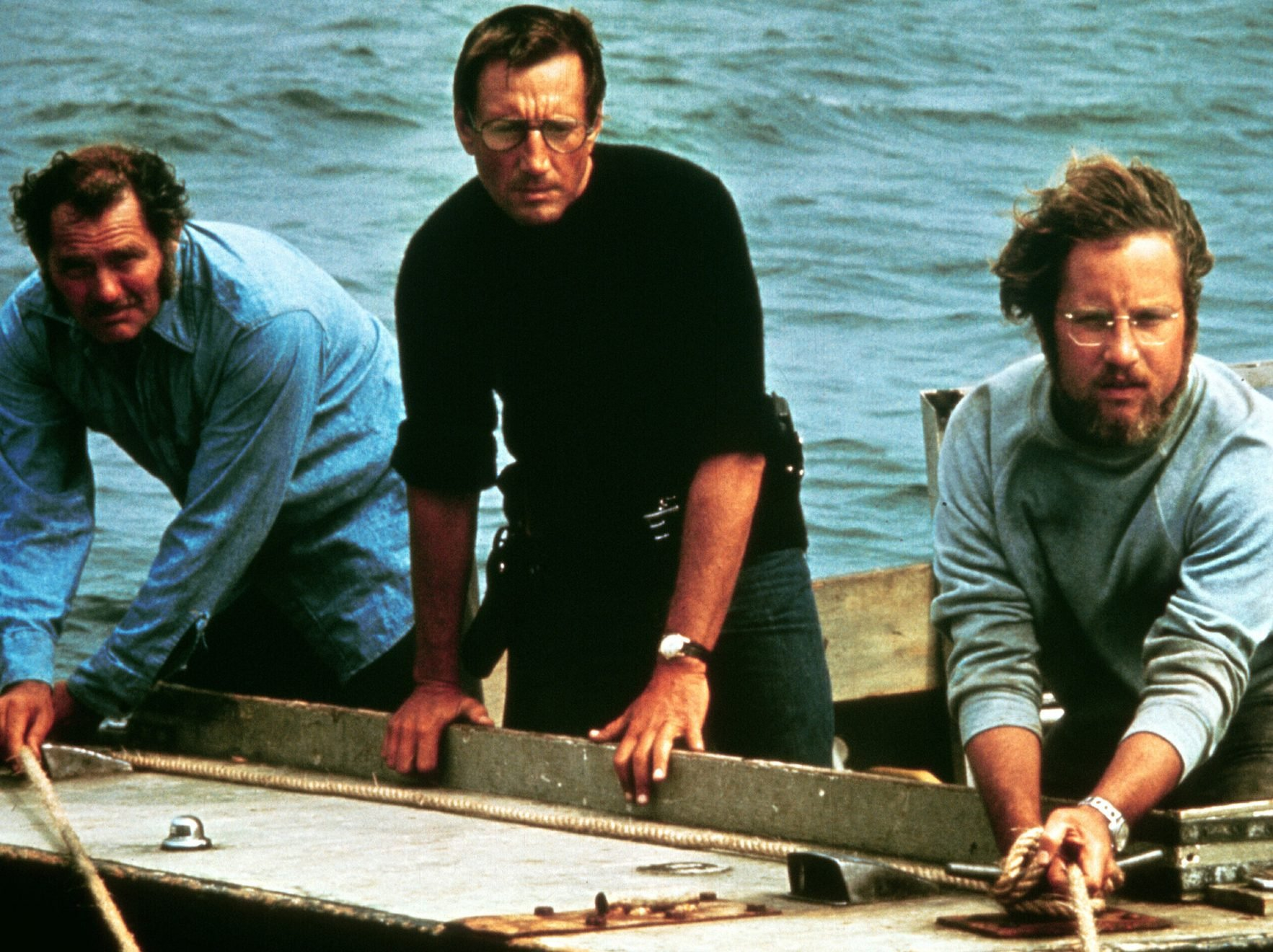 zoom 1418768393 JAWS 1975 Scheider Shaw Dreyfuss crop@2x e1615811870346 27 Things You Didn't Know About Jaws