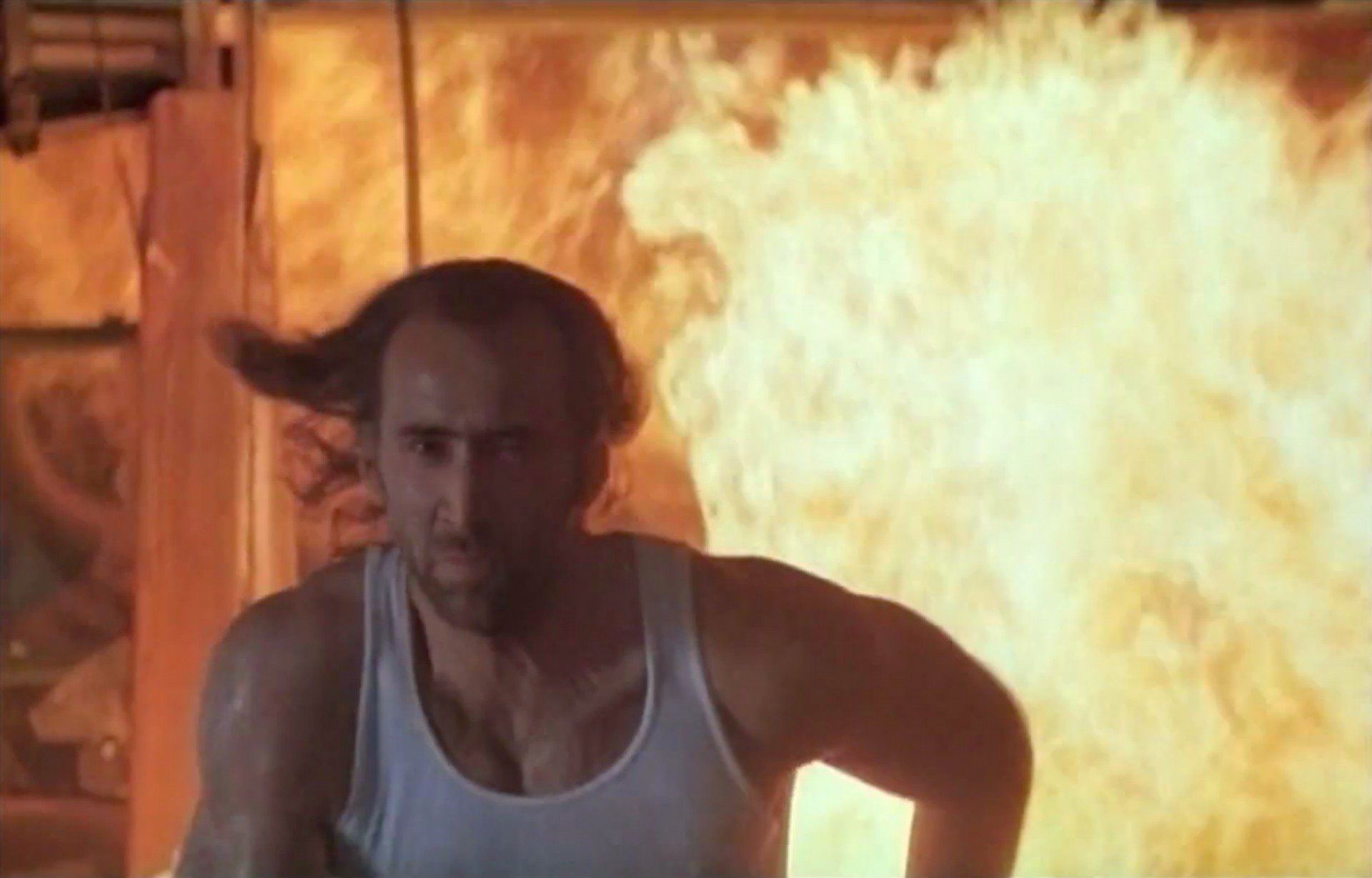 579094276 nicolas cage as cameron poe in con air 1997 20 High-Flying Facts You Didn't Know About Con Air
