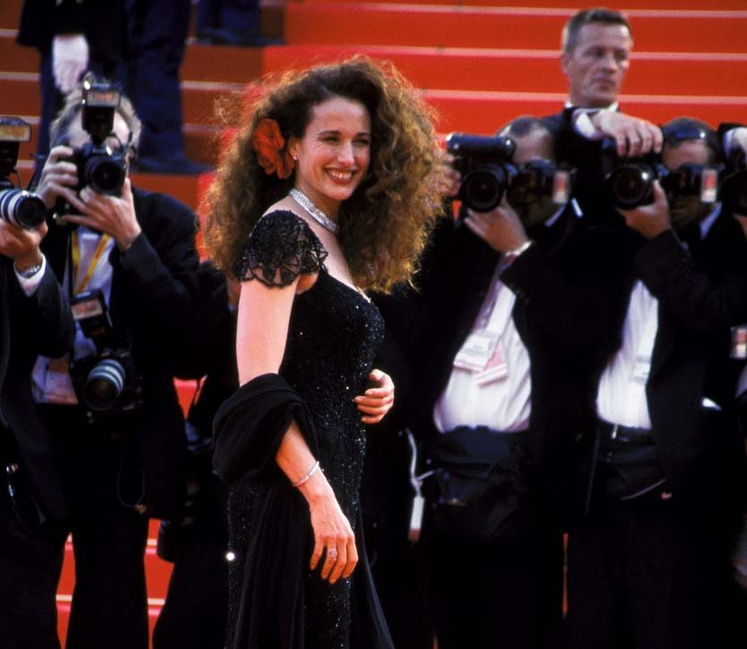 AndieMacDowell1 e1621517770122 20 Things You Never Knew About Andie MacDowell