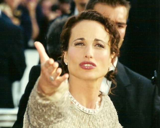 Andie MacDowell 2001 e1621516929767 20 Things You Never Knew About Andie MacDowell