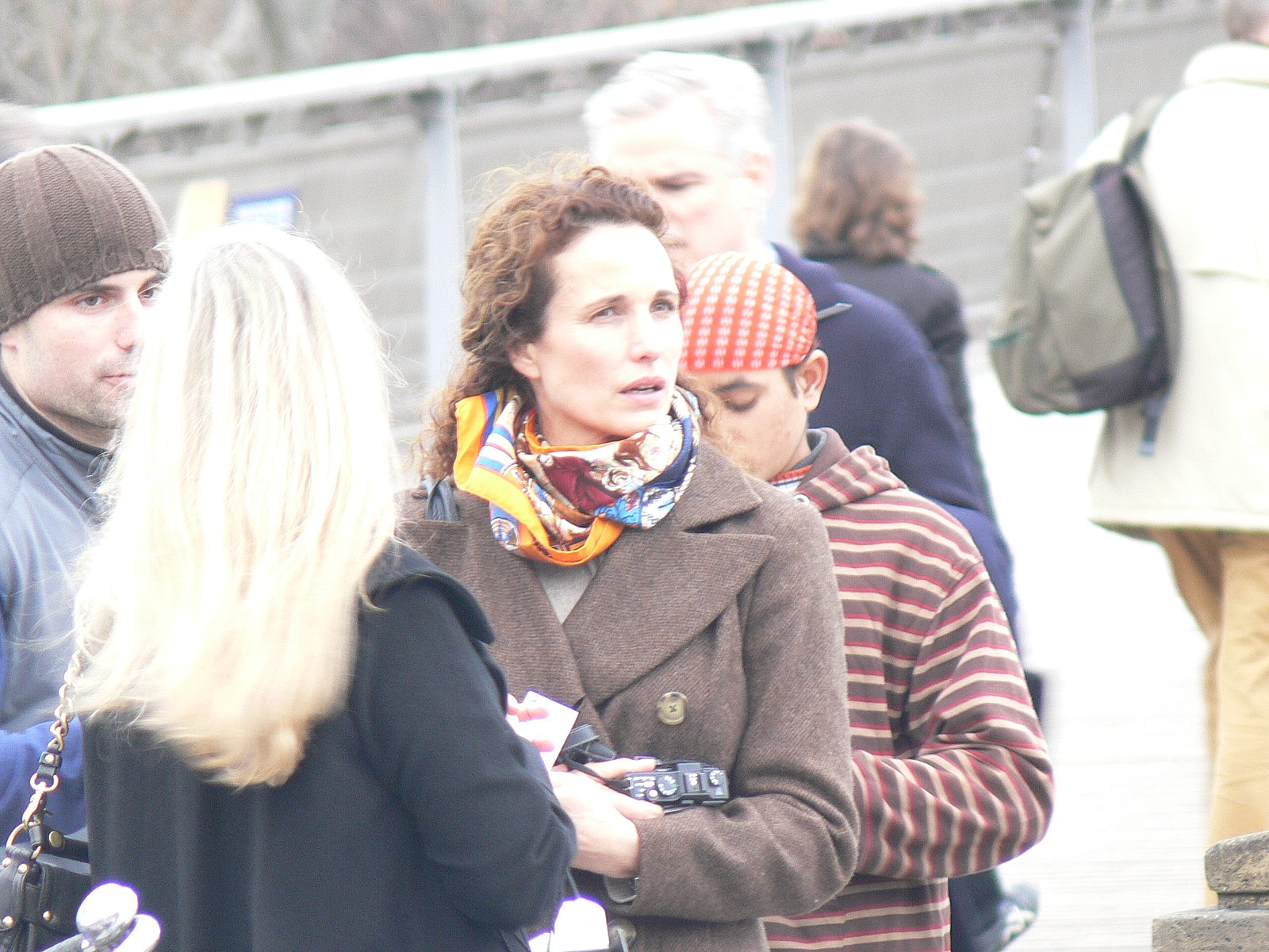 Andie MacDowell 2 Paris January 19 2008 20 Things You Never Knew About Andie MacDowell