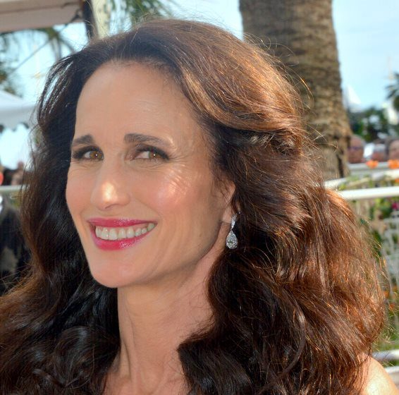 Andie MacDowell Cannes 2017 e1621518559691 20 Things You Never Knew About Andie MacDowell