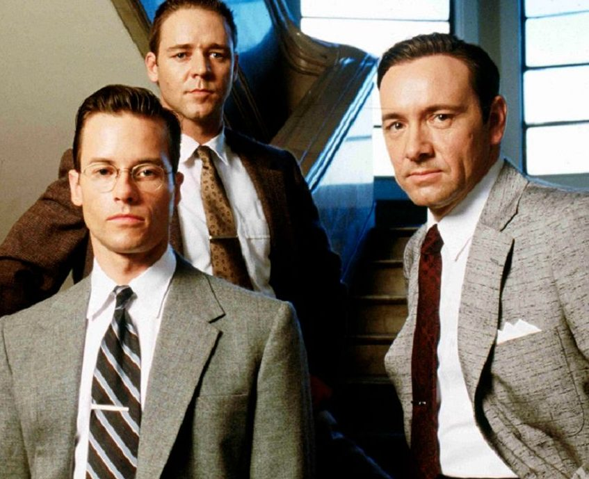 L.A Confidential Russell Crowe Guy Pearce Kevin Spacey e1621422032132 20 Things You Never Knew About Russell Crowe