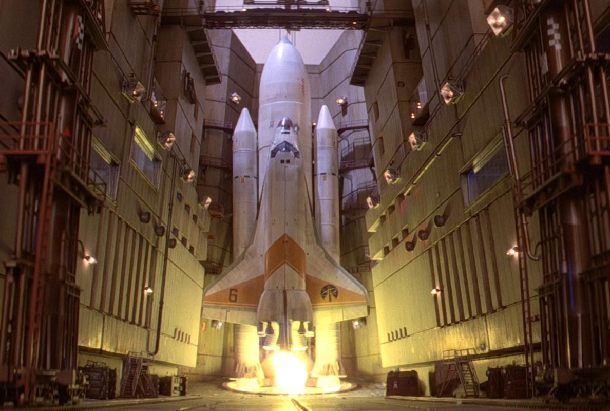 Moonraker 5 in launch hangar Moonraker e1618826603664 20 Eyebrow-Raising Facts You Never Knew About Moonraker
