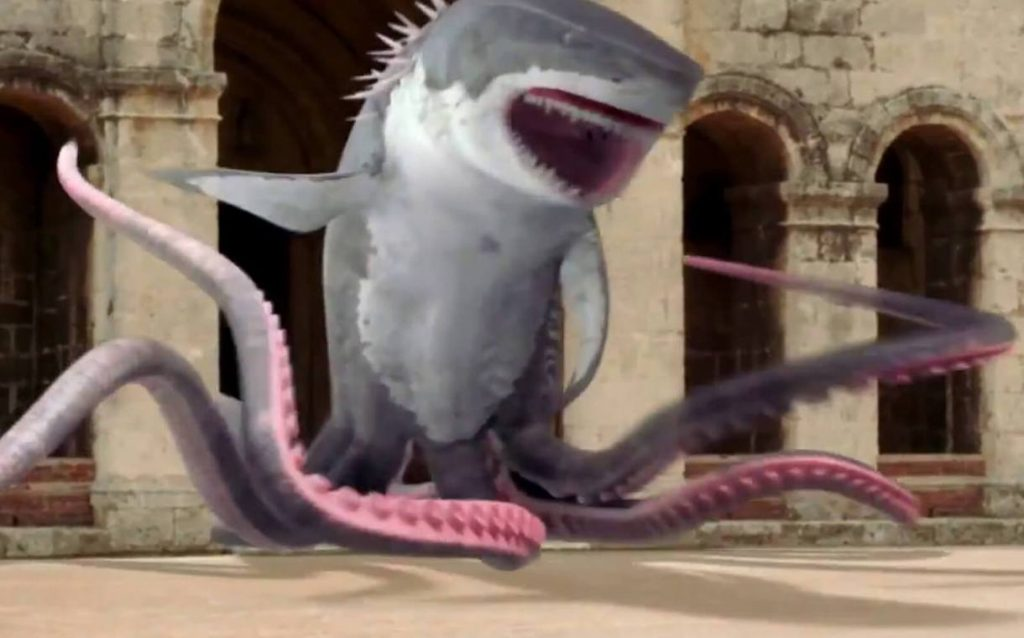 Shartopus vs Whalewolf still 2 20 Things You Never Knew About Eric Roberts