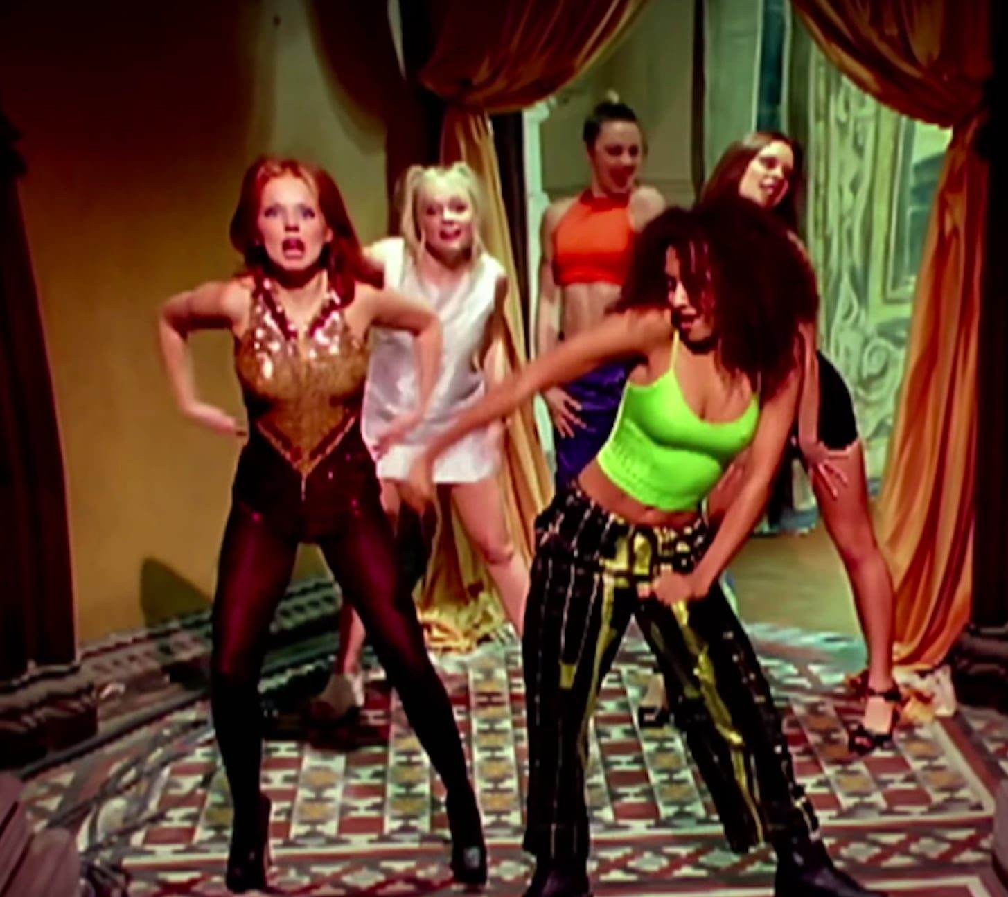 geri horner emma stone auction dresses to support beirut e1624004778973 Zig-A-Zig-Ah! It's 25 Fascinating Facts About The Spice Girls!