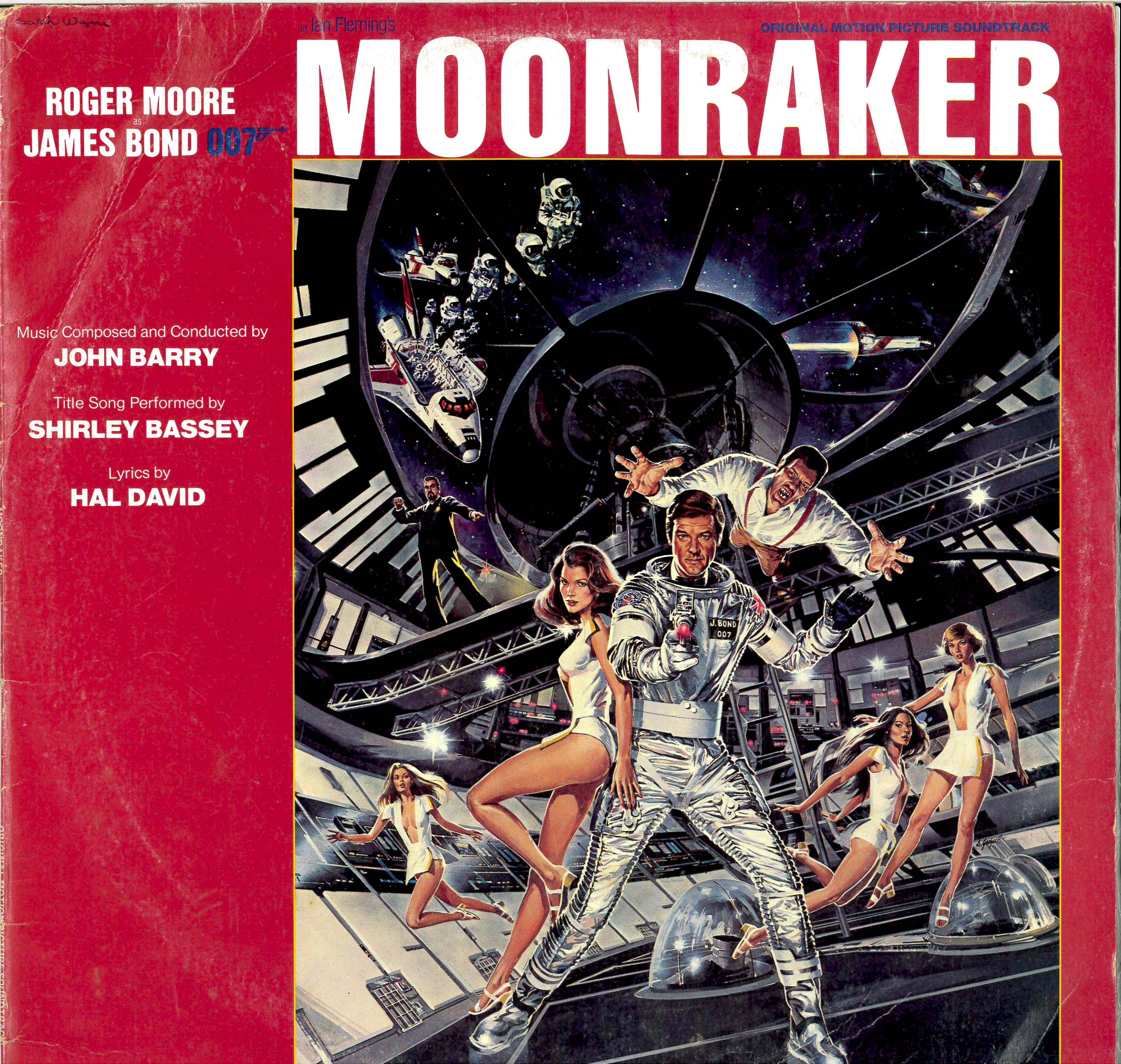 moonraker red vinyl1 20 Eyebrow-Raising Facts You Never Knew About Moonraker