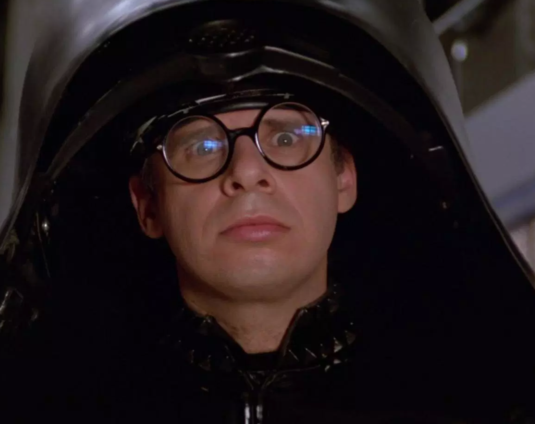 rick moranis as dark helmet in spaceballs e1619602301857 20 Things You Probably Didn't Know About Rick Moranis