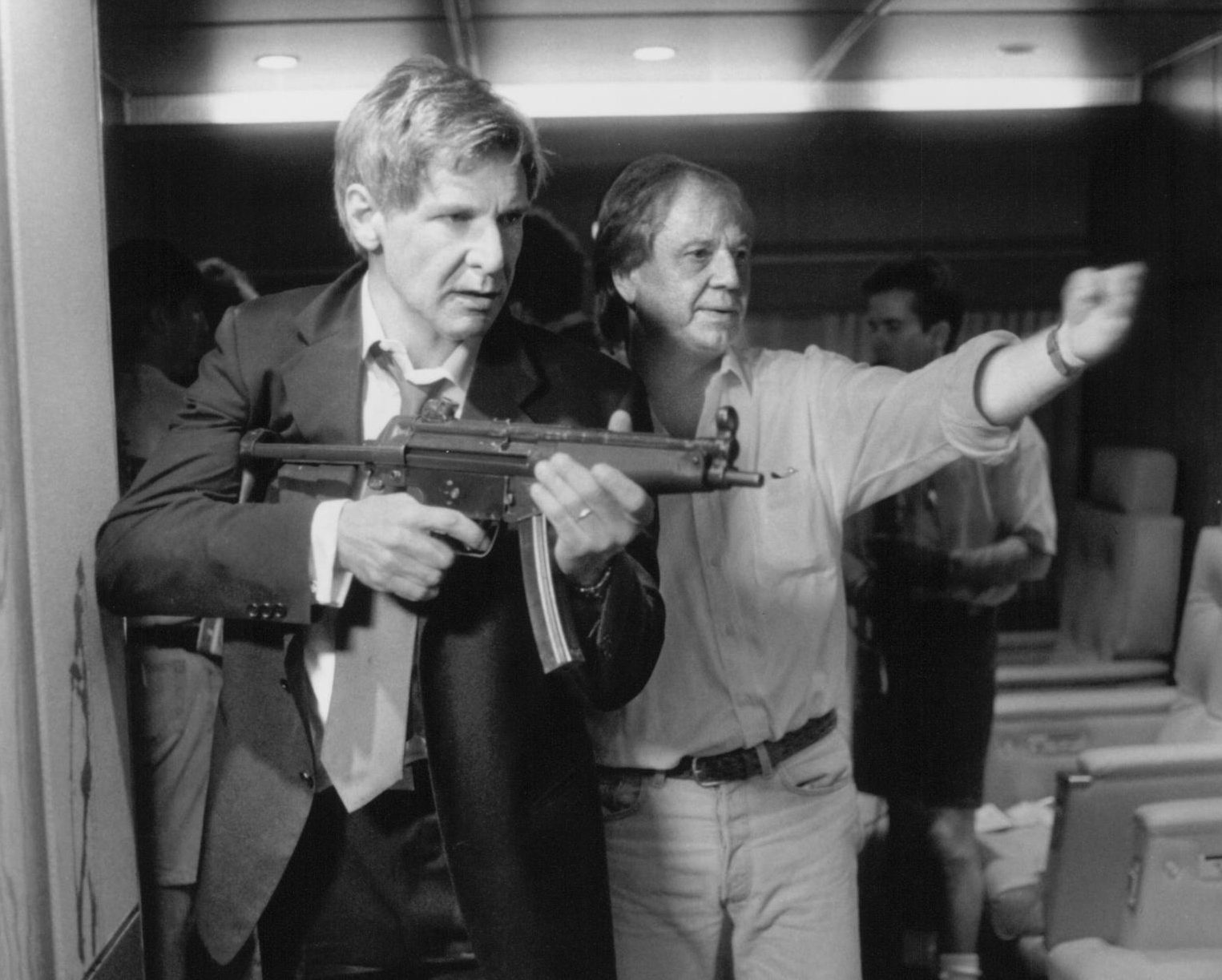 Air Force One Harrison Ford Wolfgang Petersen e1623408856385 20 Presidential Facts You Didn't Know About Air Force One