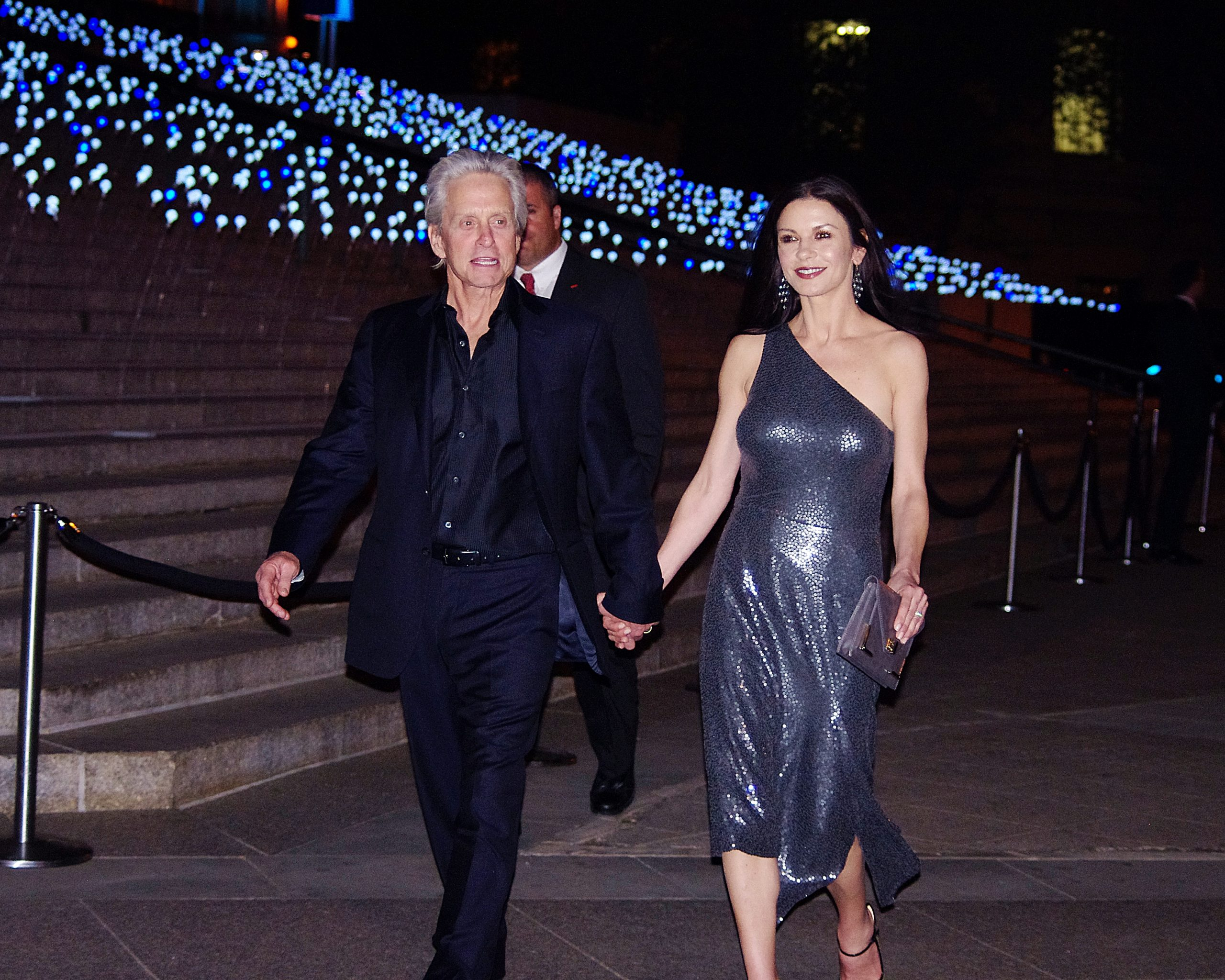 Catherine Zeta Jones Michael Douglas 2012 Shankbone 2 scaled Legendary 80s Actors With Massive Relationship Age Gaps