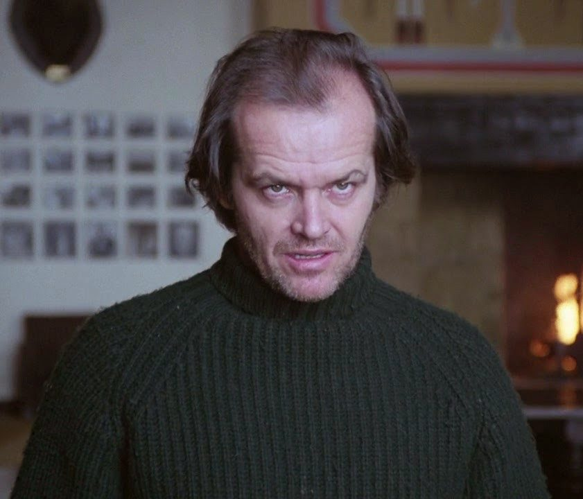 Jack Nicholson Social Distancing in The Shining 3 e1622457642891 20 Things You Never Knew About Bill Paxton