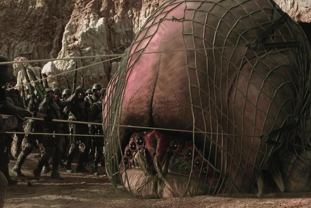 Starship Troopers brain bug e1623240175104 Mark Wahlberg Almost Starred, And More You Never Knew About Starship Troopers