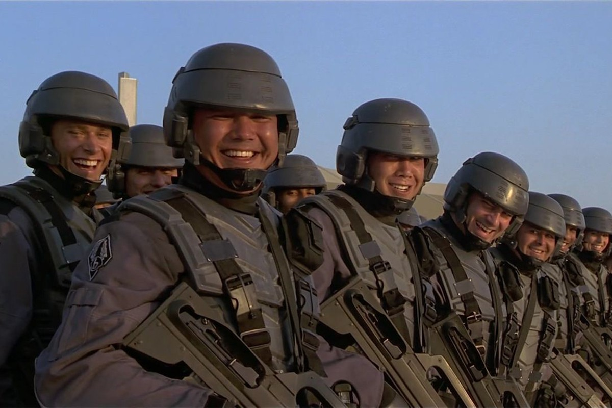 Starship Troopers Mark Wahlberg Almost Starred, And More You Never Knew About Starship Troopers