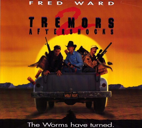Tremors 2 aftershocks movie poster 1995 1020196605 e1623320164215 Mark Wahlberg Almost Starred, And More You Never Knew About Starship Troopers