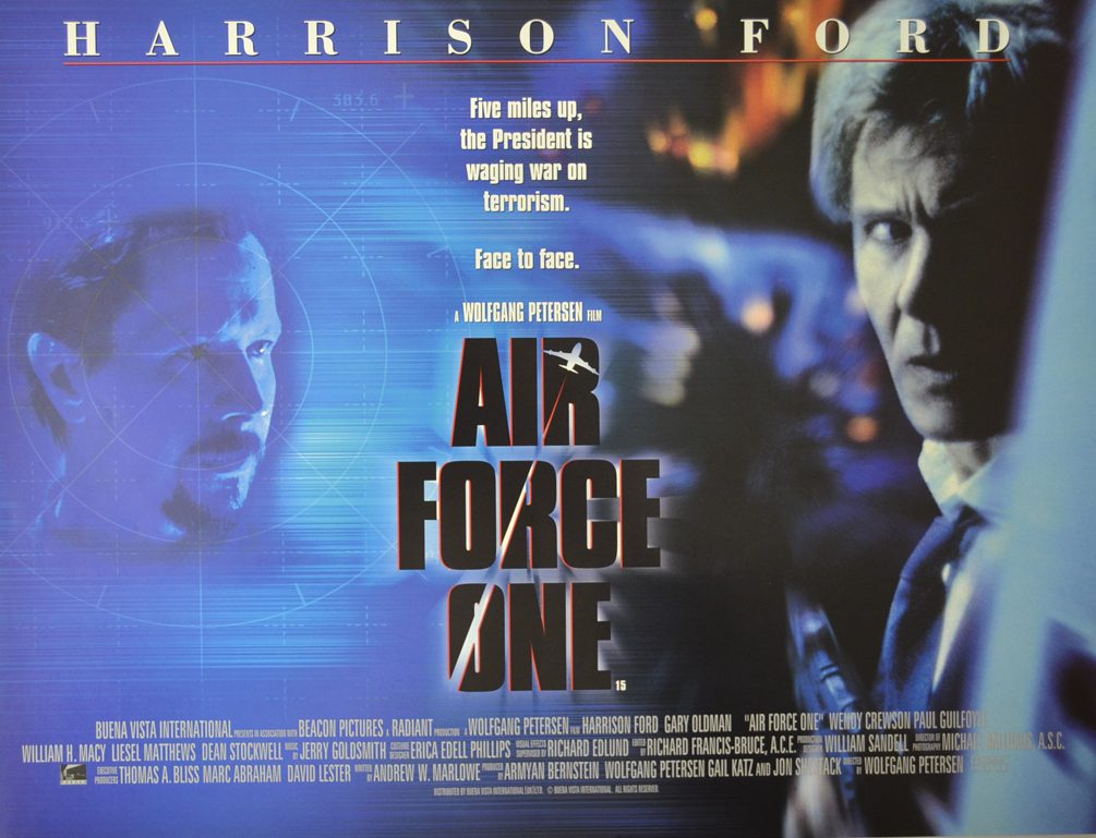 air force one cinema mini quad movie poster 1 e1623407850733 20 Presidential Facts You Didn't Know About Air Force One