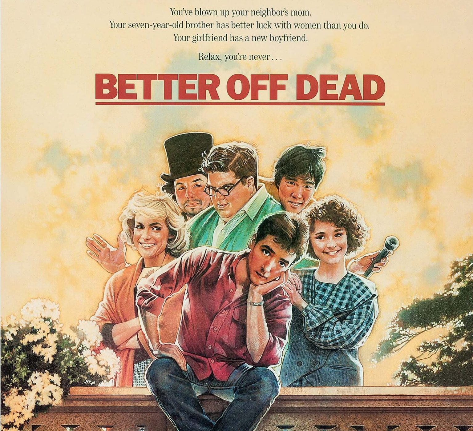 better off dead poster scaled e1621934624619 1 20 Things You Never Knew About Better Off Dead