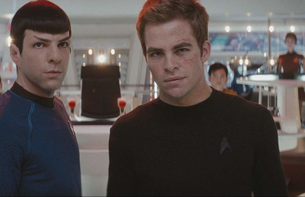 chris pine and zachary quinto as kirk and spock in star trek 2009 e1621342204847 Star Trek: All The Live-Action Movies & TV Shows, Ranked!