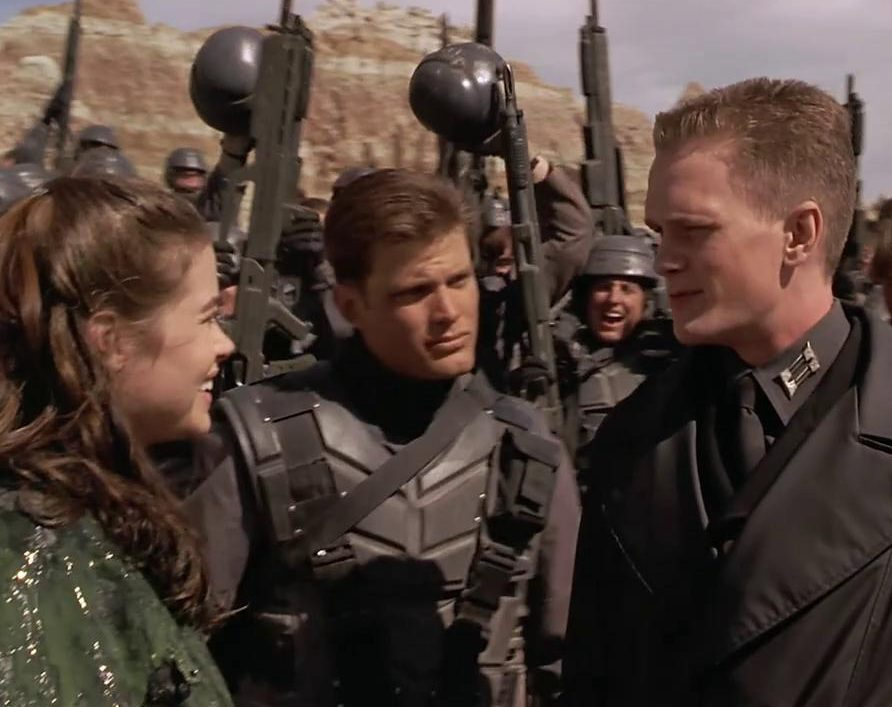 troop 205 e1623240039881 Mark Wahlberg Almost Starred, And More You Never Knew About Starship Troopers