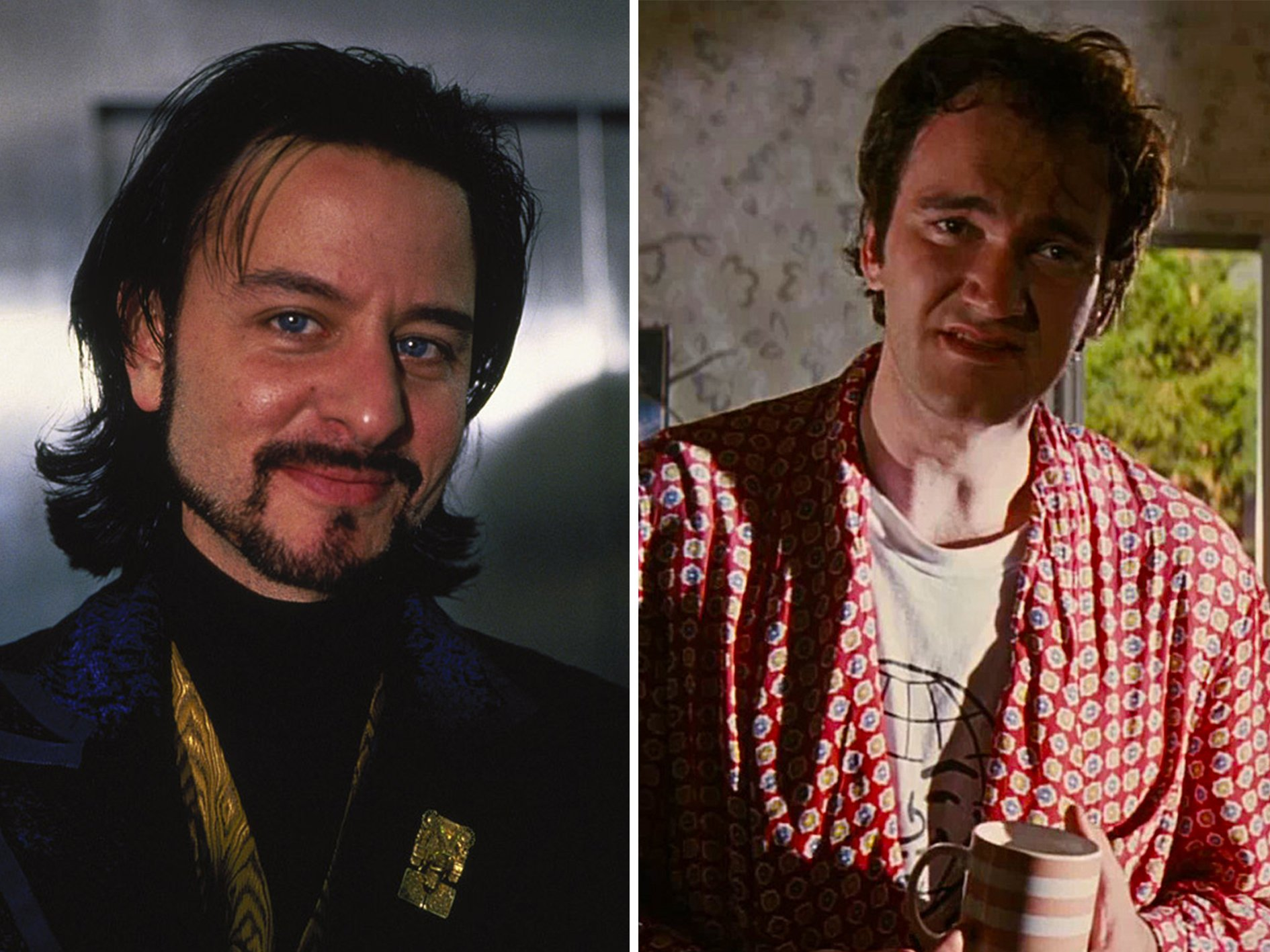 Fisher Stevens Quentin Tarantino Hackers 1 10 Things You Probably Didn't Know About Hackers