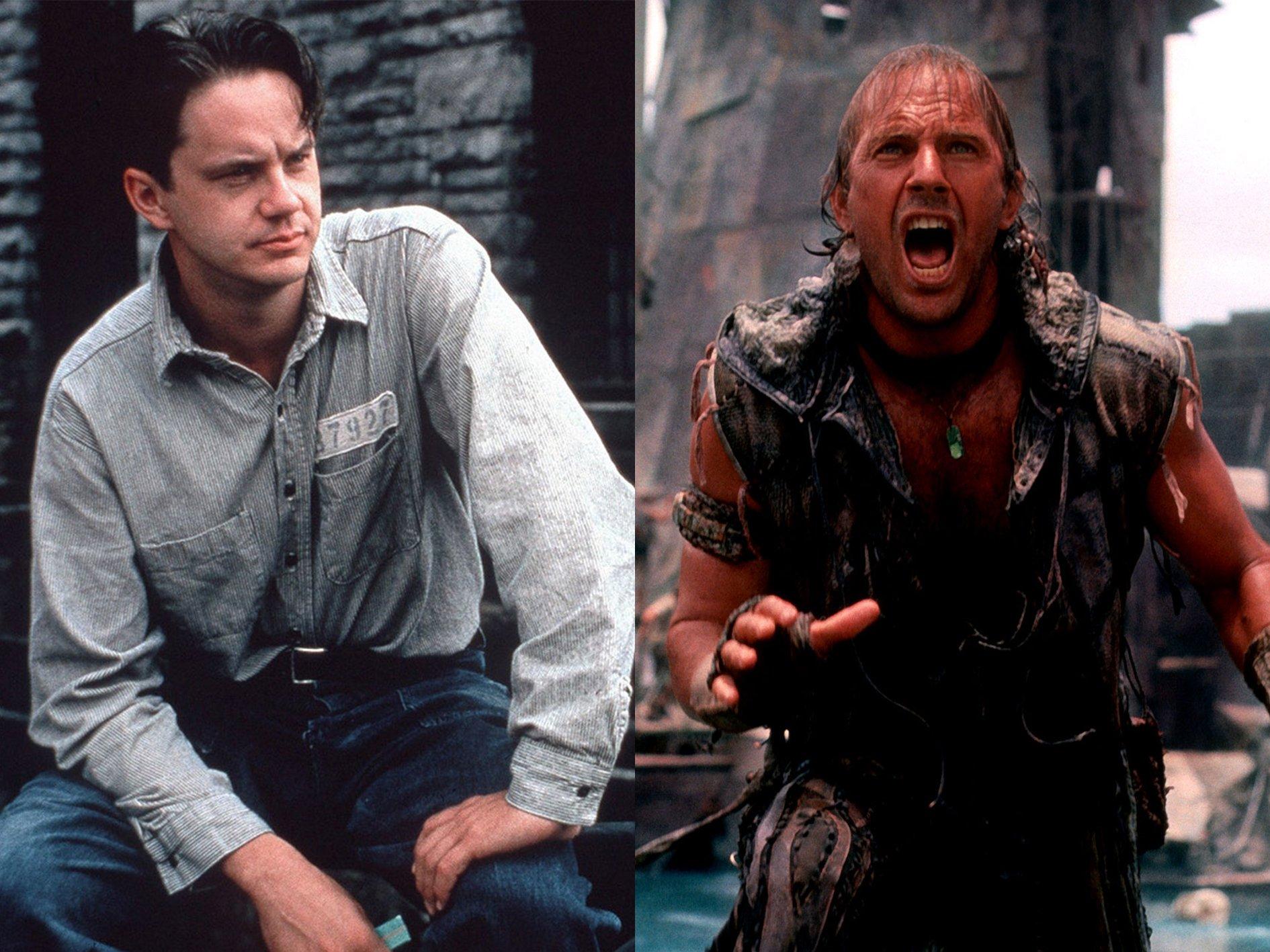 KevinCostnerShawshank Actors Who Turned Down Huge Roles For Terrible Films