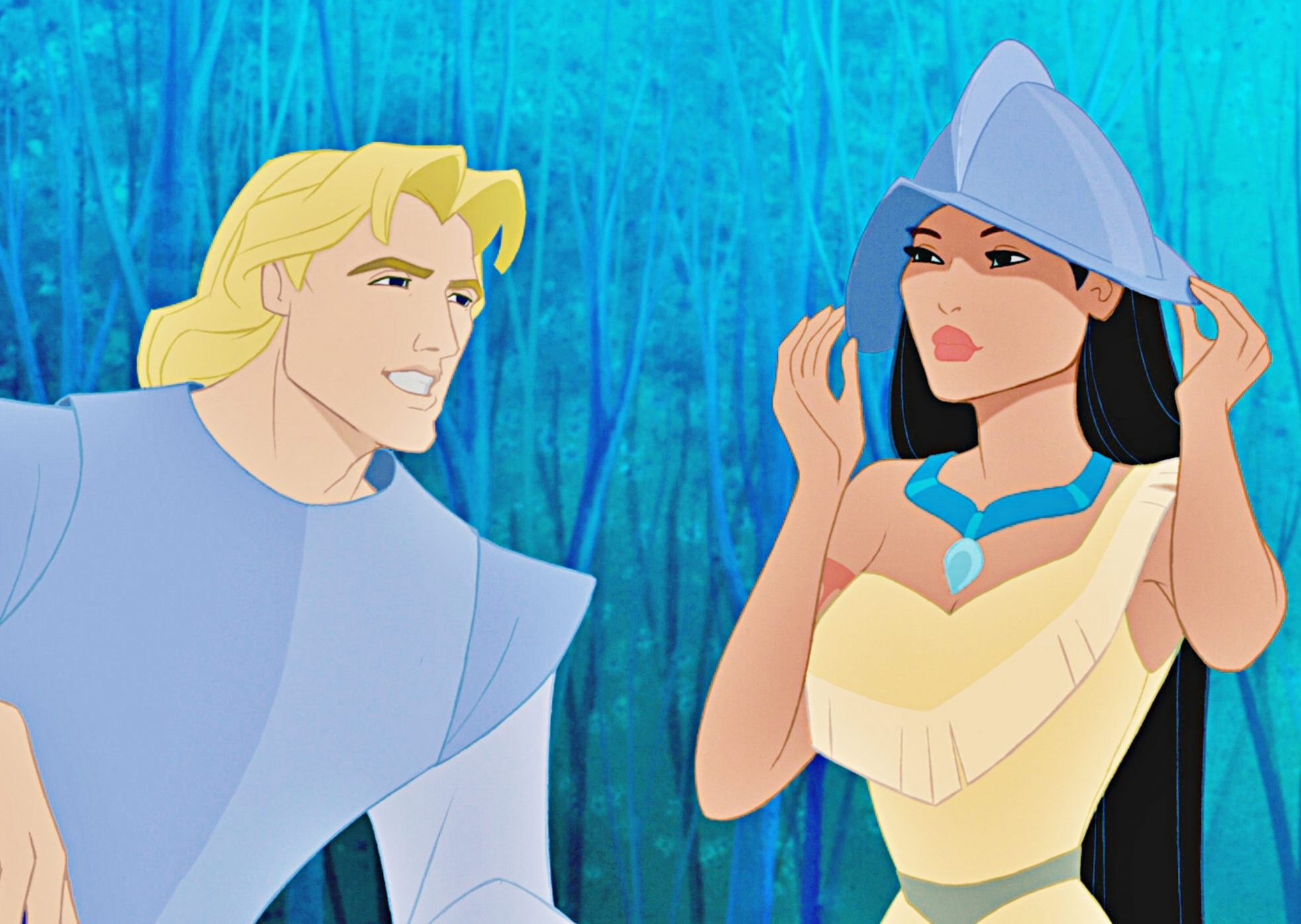 pocahontas john smith scaled e1623076561468 Films 'Based On A True Story' That Completely Lied To Us