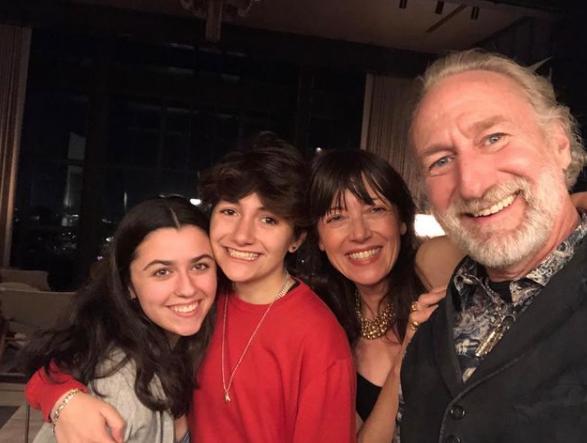 Mia Sara and family