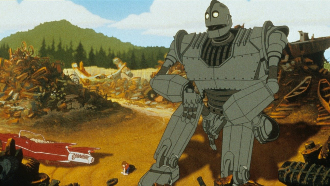 the iron giant h 1999 The Best (And Worst) Movie Robots