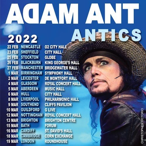 9 6 Remember Adam Ant? Here's What He Looks Like Now!