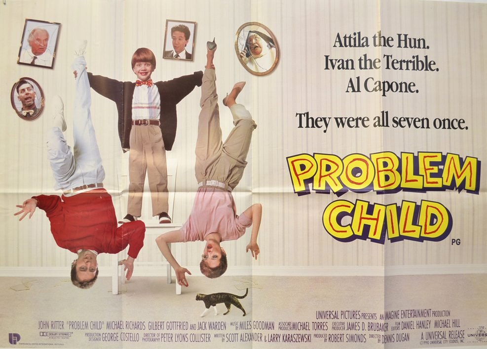 problem child cinema quad movie poster 5 e1626791936637 10 Far-Fetched Facts About Tim Burton's Ed Wood