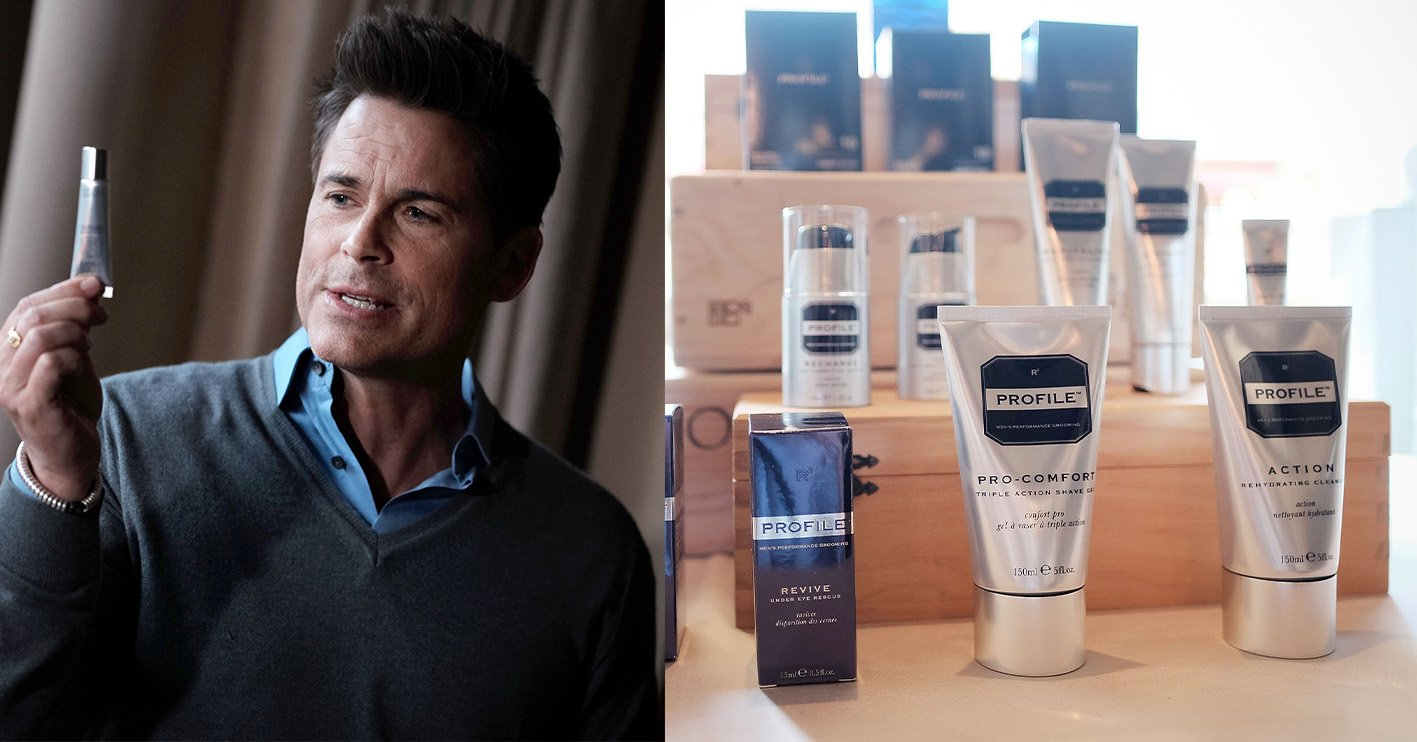 rob lowe profile skin care Celebrities With Surprising Side-Hustles